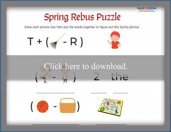 Spring Rebus Puzzle