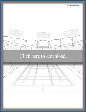 Stadium Coloring Page