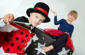 Sibling Magician Show