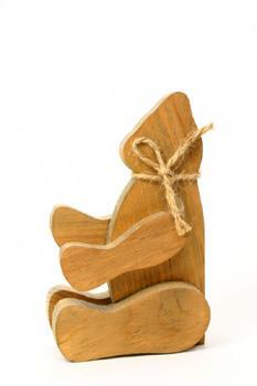 wooden toy bear