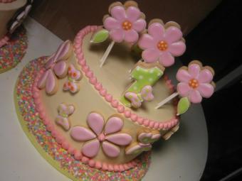 Flower cake by Jeri Gottlieb