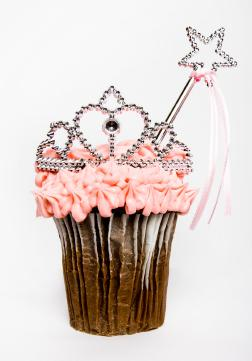 Tiara Cupcake