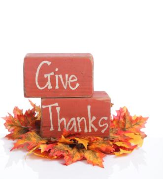 Give Thanks favor