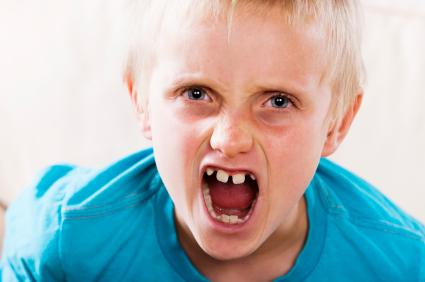 behavior problems: tantrums