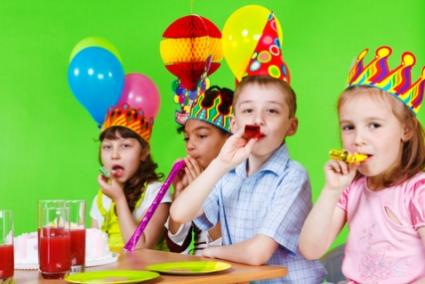 kids at a party