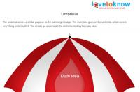 Umbrella idea web printable