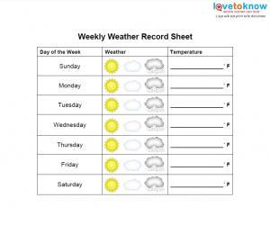 printable record sheet