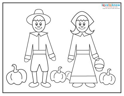 Free Thanksgiving Coloring Pages | LoveToKnow