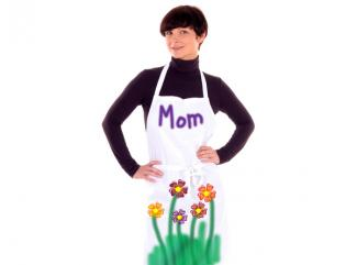 mother's day decorated apron