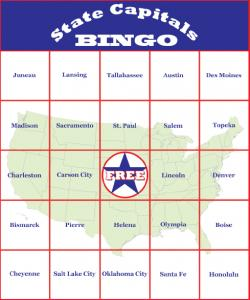 Bingo boards