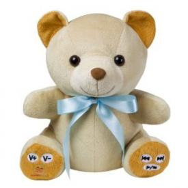 Cuddletunes MP3 Teddy Bear