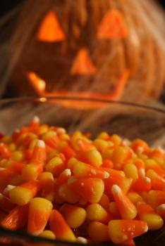 Candy corn for Halloween