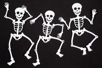 Three little skeletons