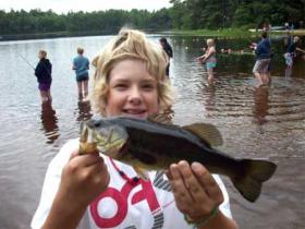 Fishing at Barry Conservation Camp