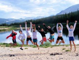 Lakeside fun at Cheley Colorado Camps