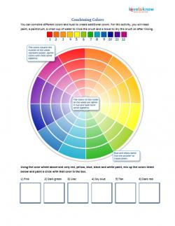 printable color wheel