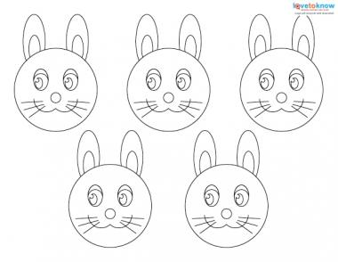 Simple Easter Crafts Kids 1 bunny