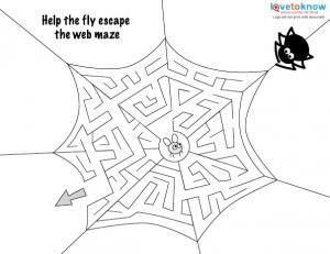 Halloween Art Activities 2 maze v2