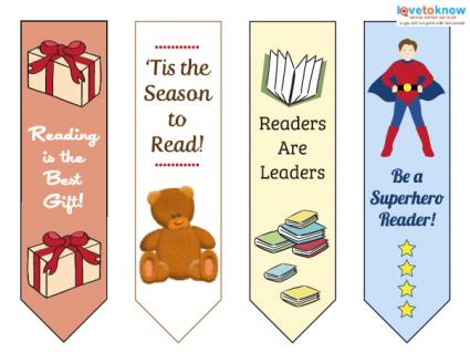 Bookmarks for kids printable
