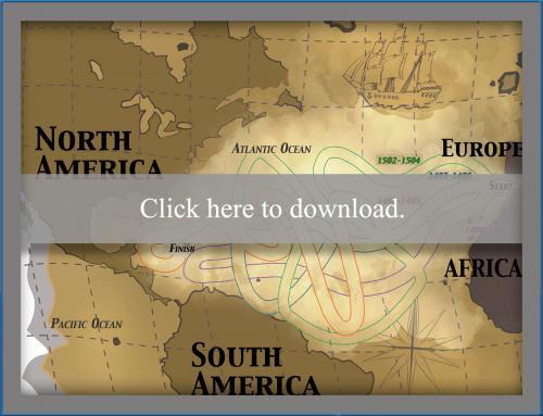 Columbus Day Voyage Maze