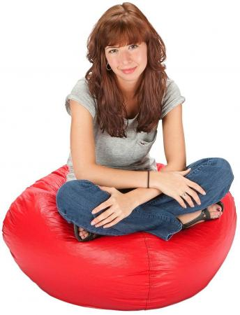 Small Vinyl Bean Bag Chair