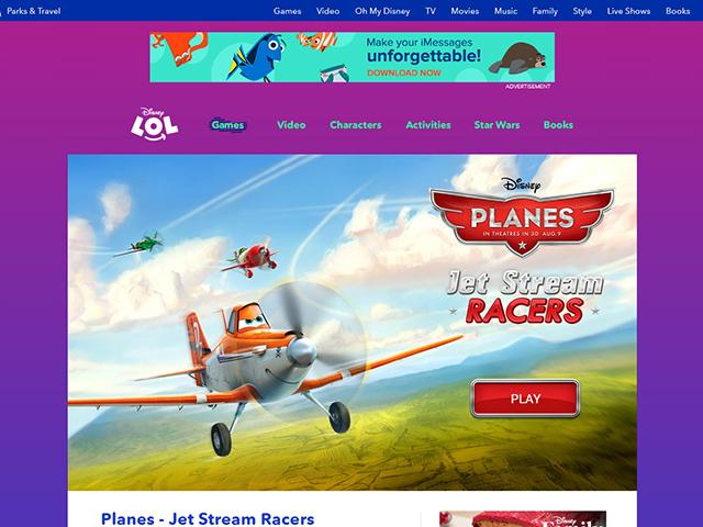 Screenshot of Jet Stream Racers