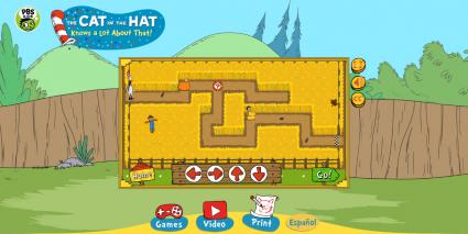 Cat in the Hat:Corn Maze Craze game