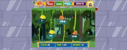 The Electric Company: Jungle Jumble Game