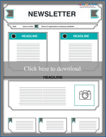 Kids Newsletter Template