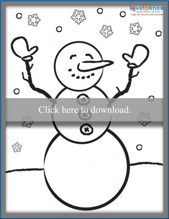 Printable Winter Coloring Pages For Kids Lovetoknow
