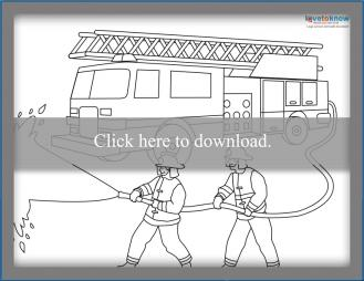 Firefighter Coloring Pages - Free Printables - MomJunction | 254x329