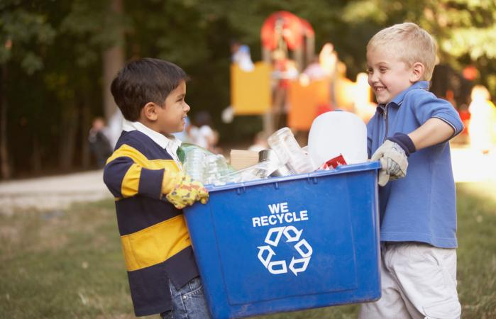 Image result for recycling kids