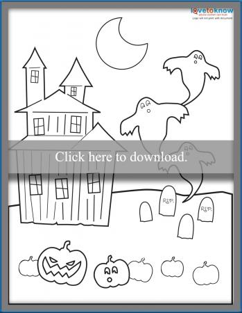 haunted house page