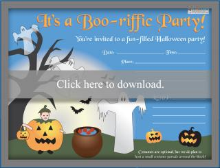 Kids' Halloween Party Invitation