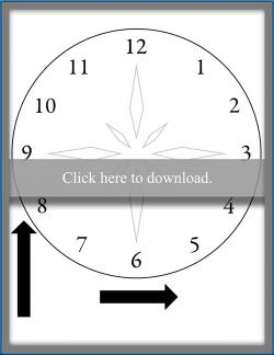 picture about Clock Face Printable identified as Clock Confront for Telling Year LoveToKnow