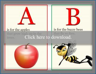 Alphabet Book Printable