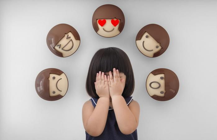Feelings and emotions of kid
