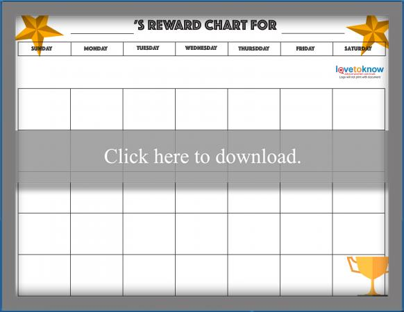 Monthly Reward Chart