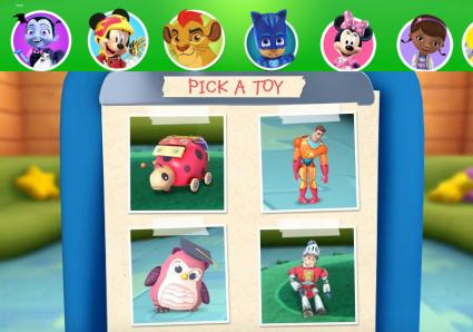 Disney Junior Doc McStuffins Clinic game page