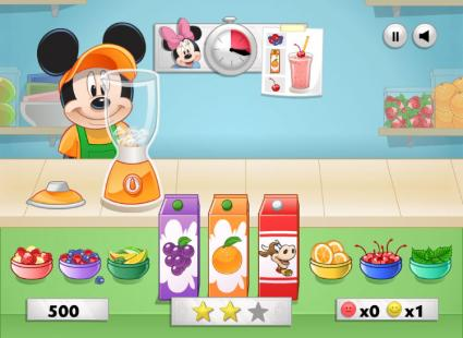 Mickey's Blender Bonanza! game page
