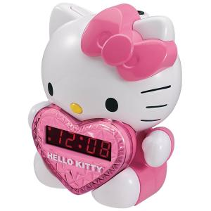 Hello Kitty Clock with Night Light