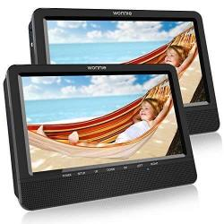 WONNIE Dual Screen DVD Player