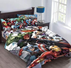Marvel Avengers Agents of SHIELD Comforter Set