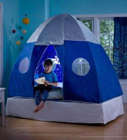 Galactic Spaceship Twin Bed Tent for Kids