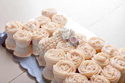 Adorable cupcake birthday idea