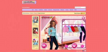 Screenshot of Dress-Up Games