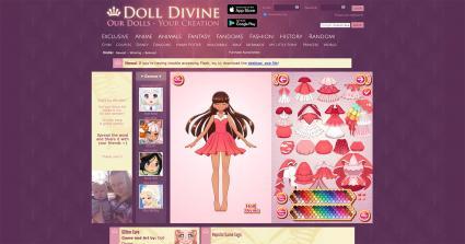 Screenshot of Doll Divine