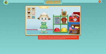 Screenshot of PBS Kids