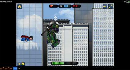 Screenshot of Lego Superman Game
