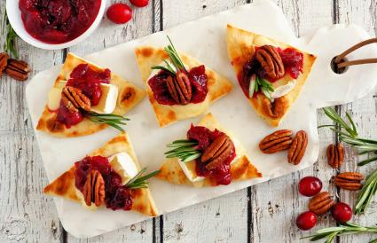 Cranberry Flatbread Appetizers